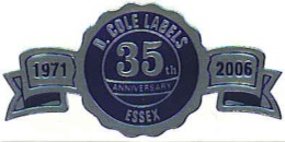 Anniversary Seal Labels